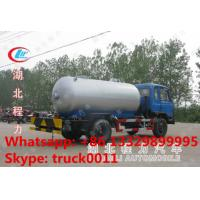 high quality and competitive price Euro 3 170hp Dongfeng 8,000L LPG gas delivery truck for sale, dongfeng lpg gas tank Manufactures