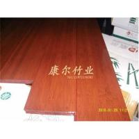 Staind color-rosewood solid bamboo flooring Manufacturer on sell directly Manufactures
