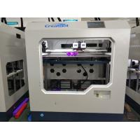 Quality Dual Extruder 1.75cm Desktop Fdm 3d Printer With Large Color Touch Screen for sale