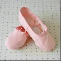 high quality canvas fabric dance shoes practice ballet shoes with children and adult sizes Manufactures