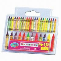 36-color Crayons, Made of Wax, Strong and Smooth Coloring Manufactures