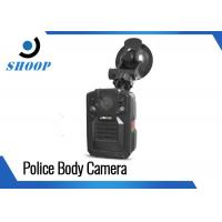 Infrared Police Wearing Body Cameras , DVR Body Worn Camera With Night Vision