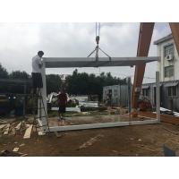 Flexible 40 Foot Flat Pack Container House Steel Structure Frame Quick To Install Manufactures