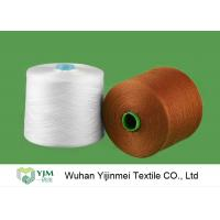 High Tenacity Plastic Cone Bright Virgin Dyed Polyester Yarn Colorful Ring Spun Yarn Manufactures