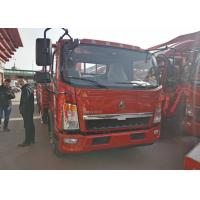 Sinotruk HOWO Light Duty Trucks 3.76L Engine Displacement 12 T Loading Capacity Manufactures
