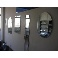 Frameless Tinted Clear Flat 5mm Tempered Silver Mirror Glass Bath Decorative Manufactures