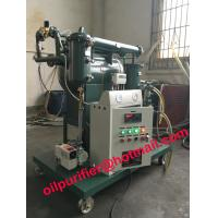 Single Stage Transformer Oil Purification Machine,Vacuum Oil Filtration Equipment, small Dielectric Oil Filter machine Manufactures