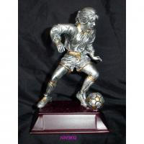 Quality resin sport football trophy,polyresin sport trophy,resin figurines,resin gift for sale