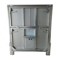 Metal Chemical Storage Tote 1000L Capacity Cold Galvanised Mild Steel Construction Finish Manufactures