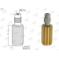 All Threaded Adjustable Cable Grippers Raw Brass Material With  Security Head Manufactures