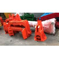 Construction Machinery Excavator Mounted Vibro Hammer With Lubrication System Manufactures