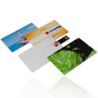 Micron 4G, 8G, 16G  customized Credit Card USB Drives flash memory disks (MY-UC09) Manufactures