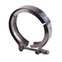 Fine Polished Grooved Pipe Clamps , Stainless Steel Pipe Fitting Clamps Manufactures