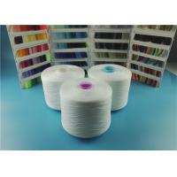 OEKO-TEX Plastic Cone Raw White Spun Polyester Yarn 100% Polyester Sewing Thread 40/2 50/3 Manufactures