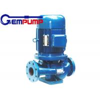 IHG vertical pipe Inline Water Booster Pump , stainless steel centrifugal water pump Manufactures