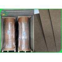 China Waterproof Greaseproof 300g + 15g PE Coated Kraft Paper For Food Tray / Drinks Cup on sale