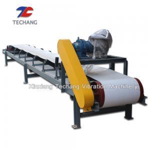 High Efficiency Belt Conveyor Machine , Large Angle Inclined Belt Conveyor Manufactures