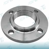 Screwed Flanges Threaded Titanium Pipe Fittings EN 1092 Without Welding Manufactures