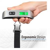 110 Pounds Digital Hanging Luggage Scale with Rubber Paint Temperature Sensor Manufactures