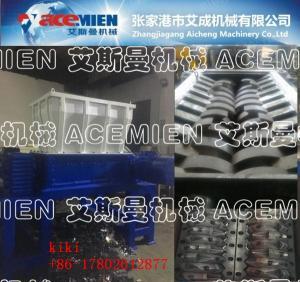 China Double shaft shredder Machine waste Tire crusher Plant Waste plastic Shredder tire crusher shreeder machine on sale