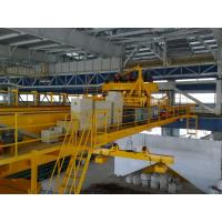 Electric Overhead Crane, Electromagnet Crane With Top Slewing (Rotating) Magnetic Chuck For Steel Mill Manufactures