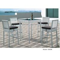 China 5pcs wicker rattan outdoor furniture  high back bar chair table -8360 on sale
