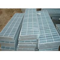 Corrosion Resistant Galvanized Steel Grating Silver 32 X 5 Metal Walkway Manufactures