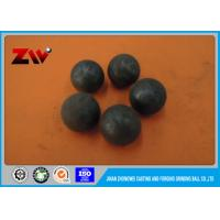 China High impact toughness high chrome cast iron and Forged grinding media Ball on sale