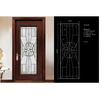 Traditional Door Decorative Panel Glass 3mm-19mm Clear Tinted & Reflective Glass Manufactures