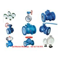 PE Lined Steel  Ball valve Butterfly valve check valve Fluorine stop valve Fluorine lined pipe fittings Fluorine Manufactures