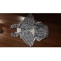 Agou 2016 Ins Hot Baby Girl Sets Striped Bow Princess Toddler Clothing Sets