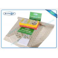 Nonwoven Cleaning Environmental Disposable Table Cloths For Hotel , 45g 50g 60g Customized Manufactures