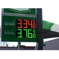 "24"" Advertising digital price sign gas station Eye Catching with Brightness Sensor Manufactures"