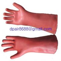 Buy cheap rubber gloves 20KV from wholesalers