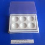 Dental Procelain  Mixing Slab (  Plate), 6 Slots , having plastic Cover & bottom Manufactures