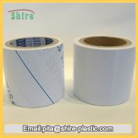 China Stainless Steel Laser Masking Film , Temporary Transparent PVC Lamination Film on sale