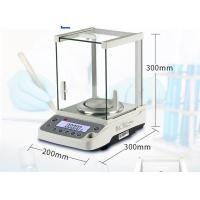 Lab Digital Balance Scales With Sliding Three - Door Design Windshield Manufactures