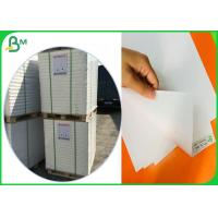Virgin Wood Pulp Material Glossy Coated Paper For Making Birthday Card