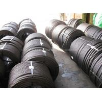 steel wire rope specifications steel tension cable 6x25 marine steel wire rope Manufactures