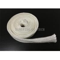 Electrical Insulation High Silica Fabric , Heat Resistant Sleeving For Cables Manufactures