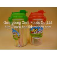 Personalized Fruit Flavor CC Hard Candy Sticks Sweets In Cup OEM Available Manufactures