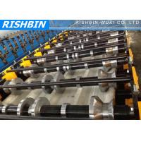 Wide Span Roof Panel Roll Forming Machinery with 70 mm Shaft Diameter Manufactures