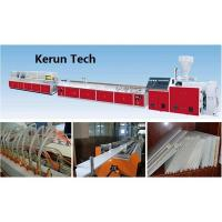 Large Output Plastic Profile Production Line Pvc Window Machine Manufactures