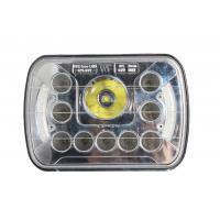 Square 45W Auto LED Vehicle Work Light Cree Angle Eye Chip 3800 Lumens Manufactures
