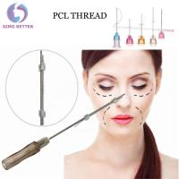 Sterile needle cosmetics micro cannulas cog for face lift PCL 3d meso thread Manufactures
