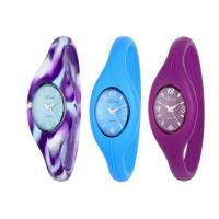 Custom Silicone Wristband Watch For Women , Silicone Digital Watch Manufactures