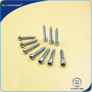 Buy cheap M3~ M12 Socket Cap Head Screw / Self Tapping Wood Screws Zinc Plated from wholesalers