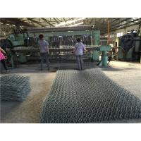 PE / PVC Coated Gabion BoxDouble Twist Welded Gabion Baskets For Road Protection Manufactures