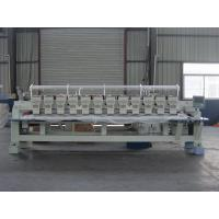 China Programmable Embroidery Machine 12 Heads , Flat Knitting Machine With USB Port on sale