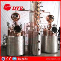 500L Manual Wine Alcohol Distiller Tower With Stainless Condenser Manufactures